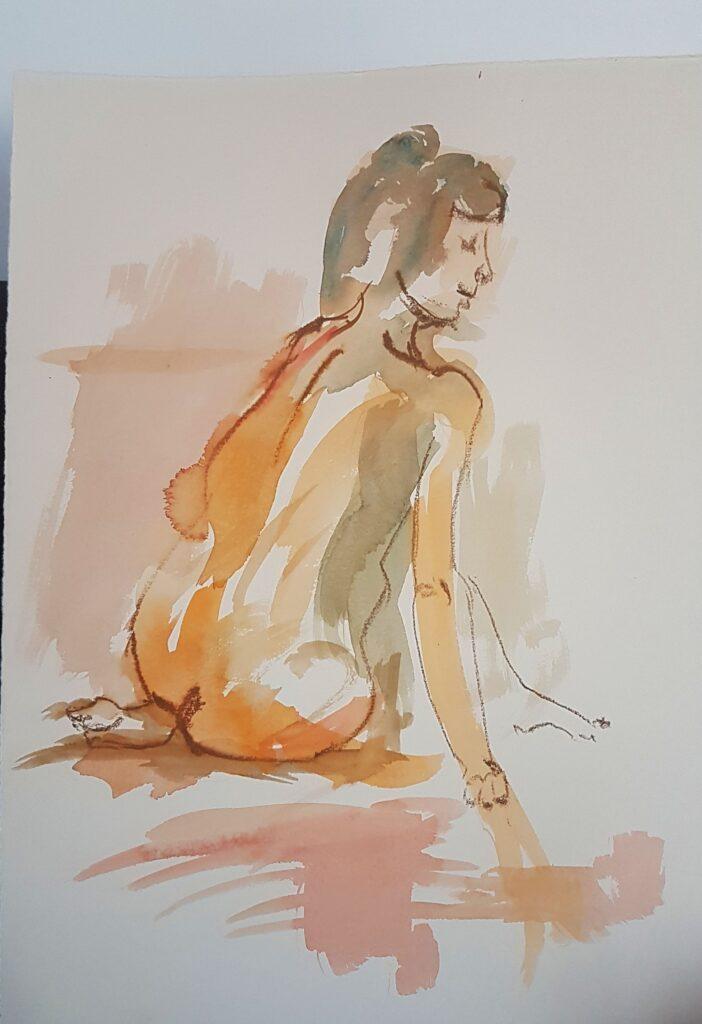 Laura_Kohle-Aquarell_60x40